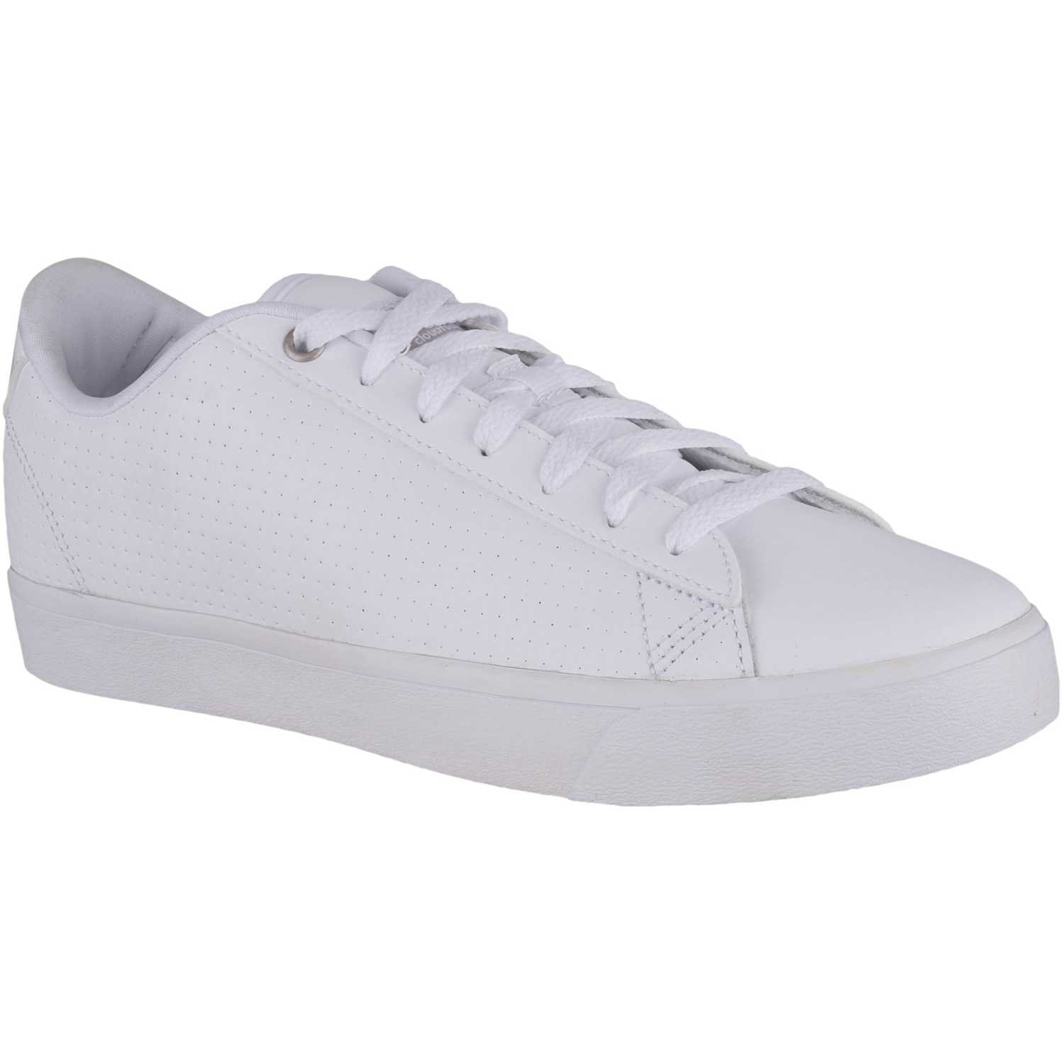 buy popular 8fc8f 89bdc ... low price zapatilla de mujer adidas neo blanco gris daily qt clean  df9d6 6687a
