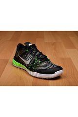 Nike Negro / Verde de Hombre modelo LUNAR TR 2016 Deportivo Training Zapatillas