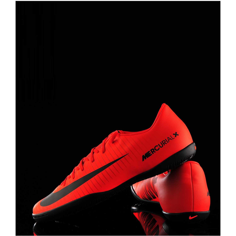 low priced 8a2b6 6abe8 Zapatilla de Hombre Nike Rojo   negro mercurialx victory vi ic