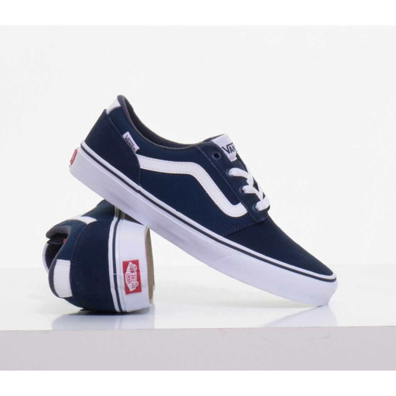72fffeaa836d4 Zapatilla de Hombre Vans Azul   blanco chapman stripe