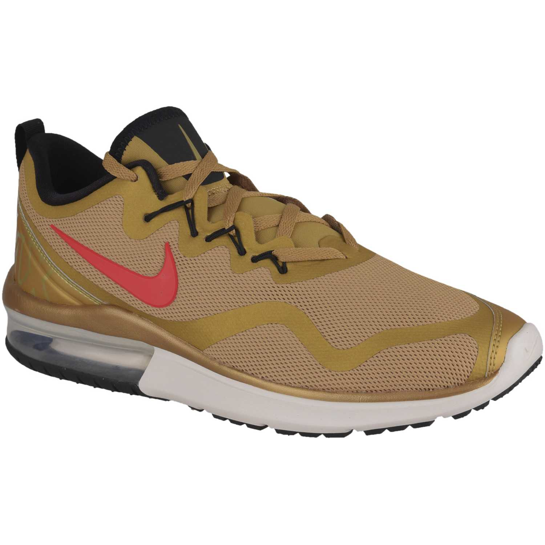 Zapatilla de Hombre Nike Marrón / rojo nk air max fury