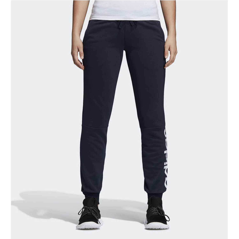 Pantalón de Mujer adidas azul ess lin pant