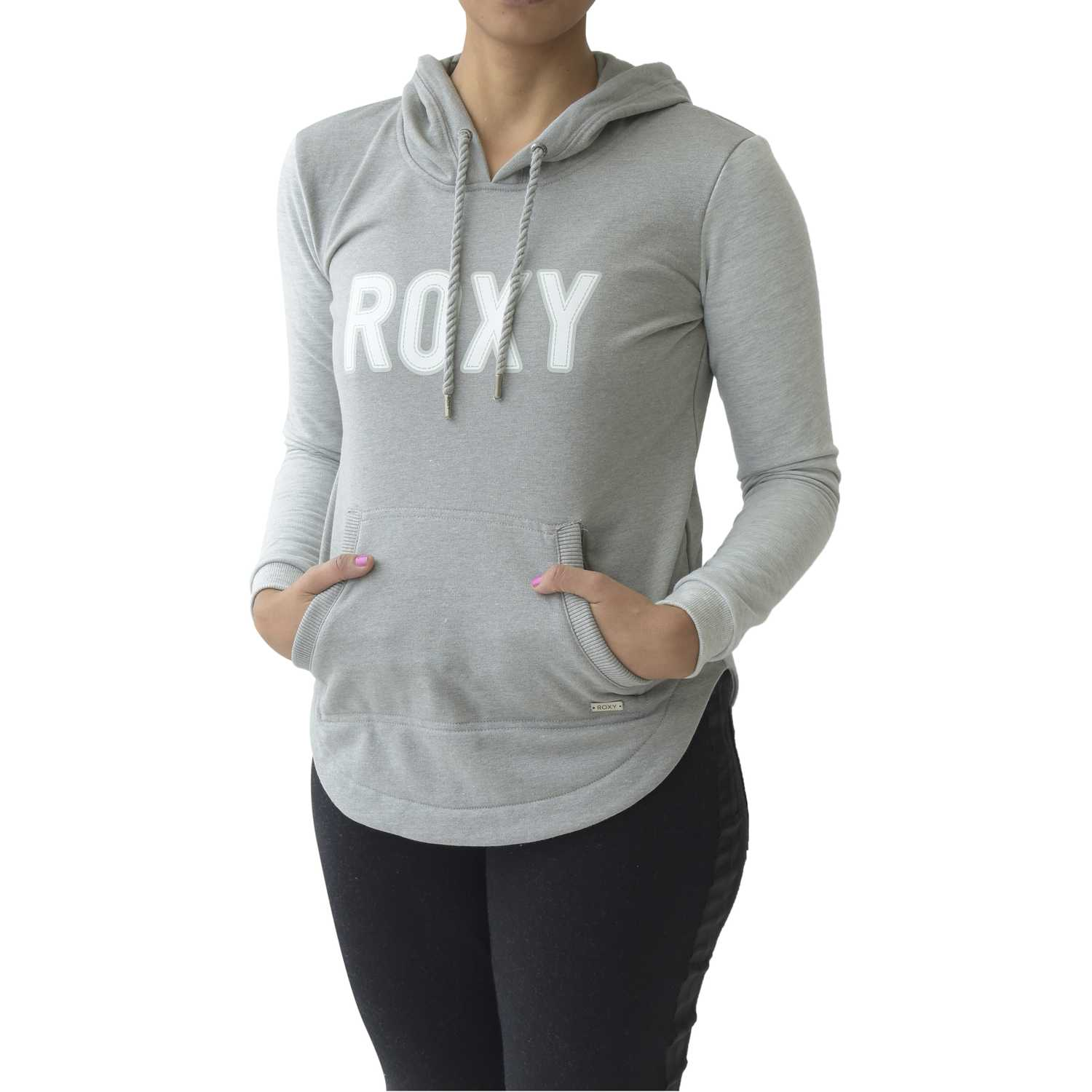 Polera de Mujer Roxy Gris / blanco all same days
