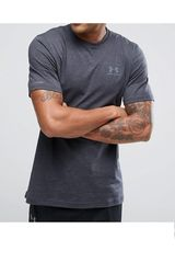 Polo de Hombre Under Armour CC LEFT CHEST LOCKUP GRIS OSC