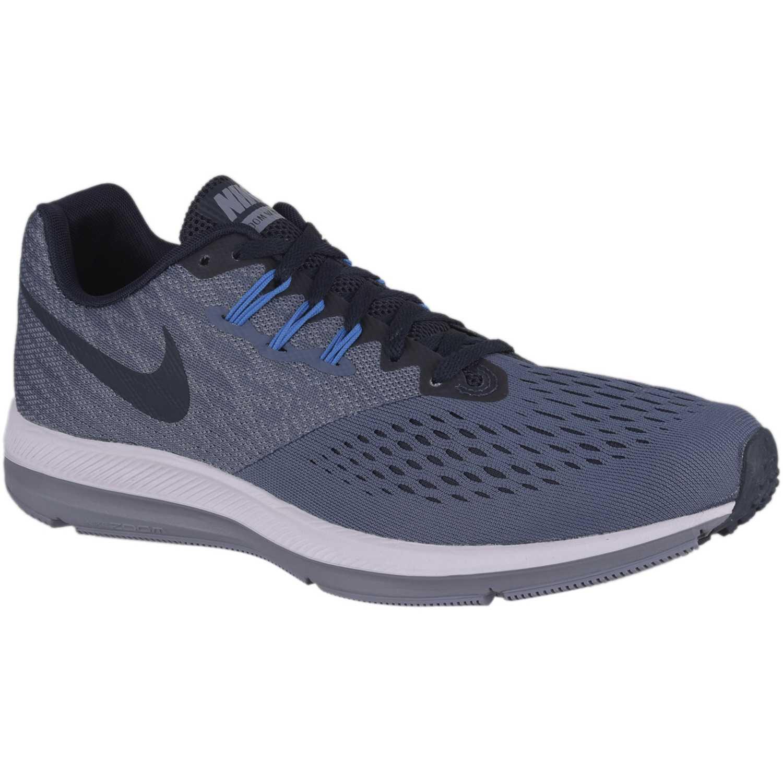 8d125ee7f56 Zapatilla de Hombre Nike Plomo   negro zoom winflo 4