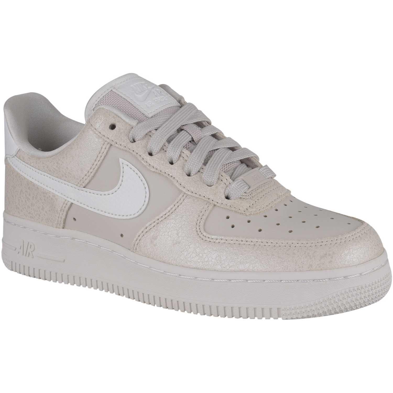 Zapatilla de Mujer Nike Beige / blanco w air force 1 '07 prm