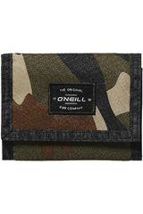 34f32626d ONEILL Camuflado de Hombre modelo BM O'NEILL WALLET Billeteras
