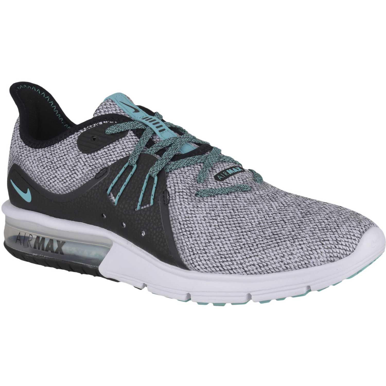 Zapatilla de Hombre Nike Plomo / verde nike air max sequent 3