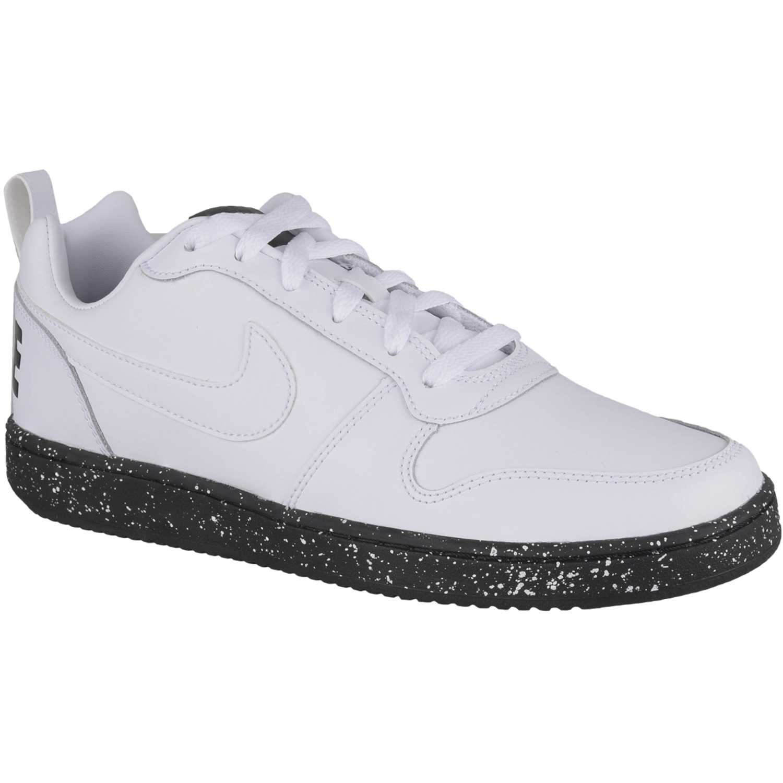 8d8fed72158 Zapatilla de Hombre Nike Blanco   negro nike court borough low se ...