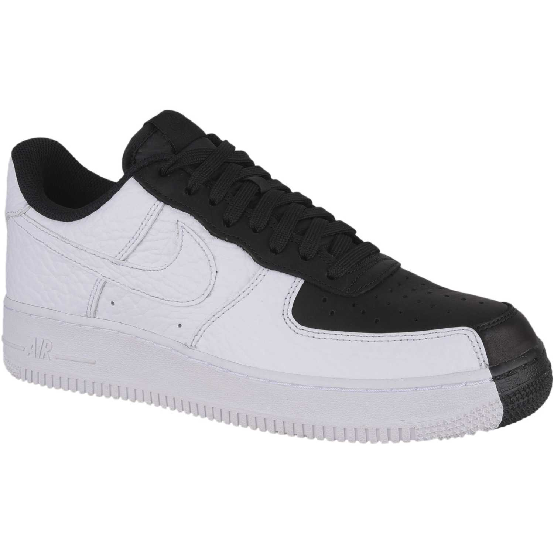 Zapatilla de Hombre Nike Negro / blanco air force 1 '07 prm