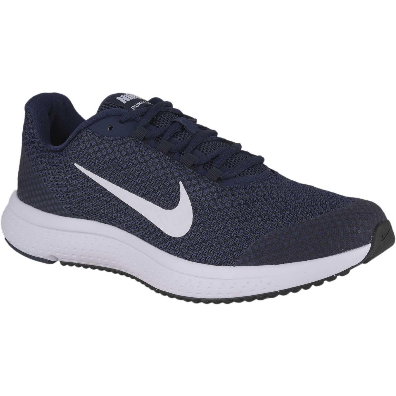 Zapatilla de Hombre Nike Azul   blanco nike runallday  8531e3e3dde63
