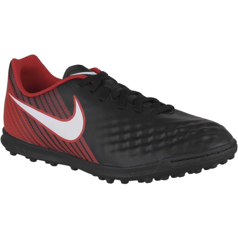 Zapatilla de Jovencito Nike Negro / rojo jr magistax ola ii tf