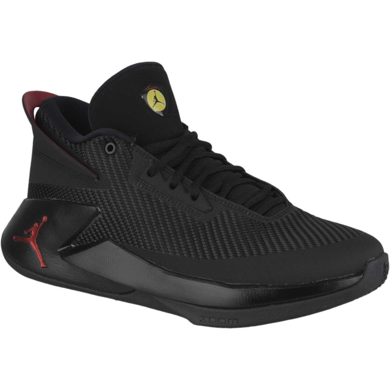 8a468791914 Zapatilla de Hombre Nike Negro   rojo jordan fly lockdown ...