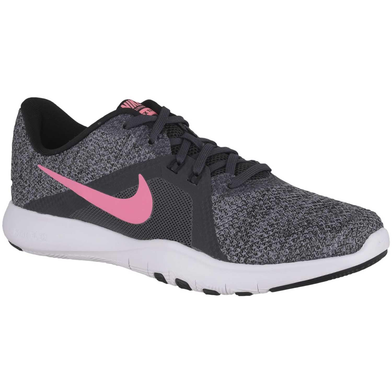 Zapatilla de Mujer Nike Negro   rosado wmns nike flex trainer 8 ... c27363e2a0ea4