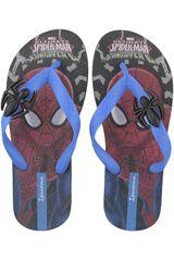 Spider Man Negro / Azul de Niño modelo 2GA731 Sandalias