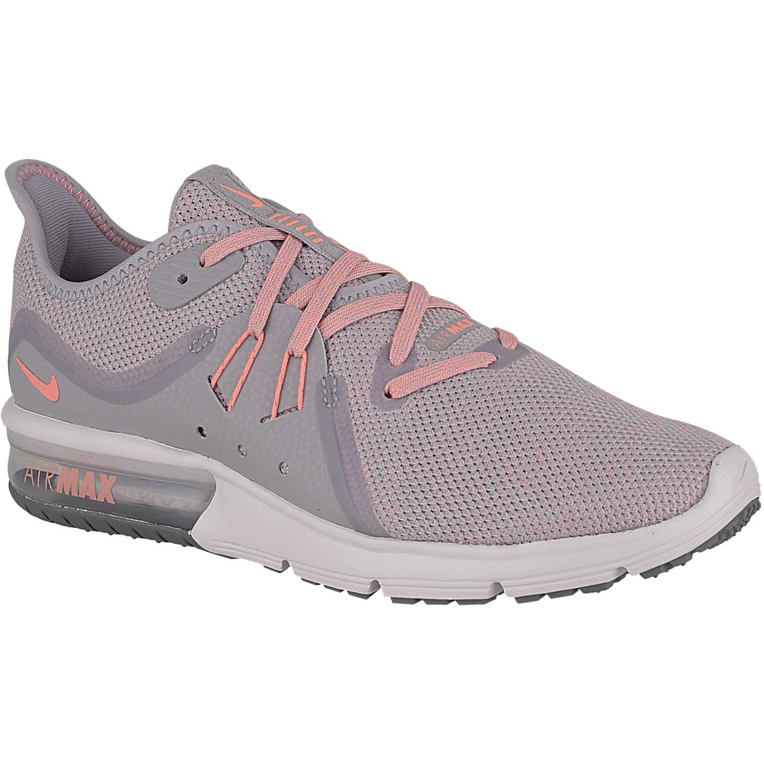 brand new 5eb28 0c2b6 Zapatilla de Mujer Nike Gris   rosado wmns nike air max sequent 3
