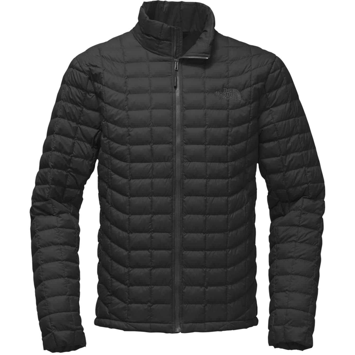 thermoball north face hombre negro