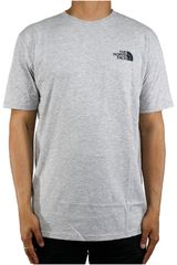 The North Face Gris de Hombre modelo M S/S RED BOX TEE Casual Polos