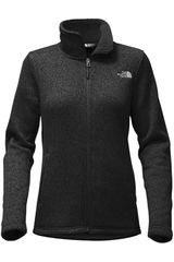 The North Face Plomo de Mujer modelo W CRESCENT FULL ZIP Casual Casacas