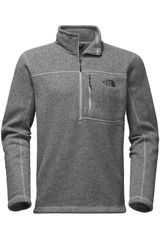 The North Face Gris de Hombre modelo M GORDON LYONS 1/4 ZIP Casual Poleras