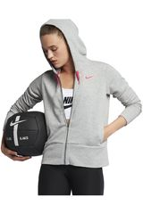 Nike Plomo de Mujer modelo W NK DRY HOODIE FZ Deportivo Casacas