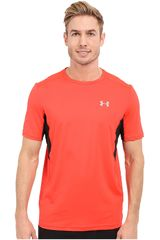 Under Armour Rojo / Negro de Hombre modelo UA COOLSWITCH RUN S/S Deportivo Camisetas Polos