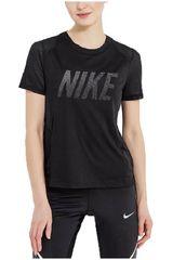 Nike NEG de Mujer modelo W NK DRY MILER TOP SS GX 2 Deportivo Polos