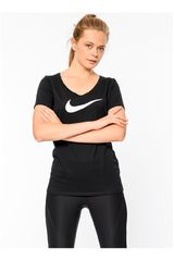 Nike NEG de Mujer modelo W NK DRY TEE DF SS SCOOP 2 Deportivo Polos