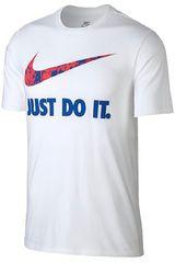 Nike BLAN de Hombre modelo M NSW TEE JDI SWOOSH SSNL Deportivo Polos