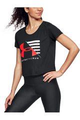Under Armour Acero de Mujer modelo Run Vanguard Boxy Tee Polos Deportivo