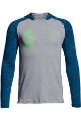 Under Armour Gris / acero de Niño modelo Cotton Knit Hoody Deportivo Poleras