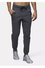 Under Armour Gris de Hombre modelo Rival Fitted Tapered Jogger Deportivo Pantalones
