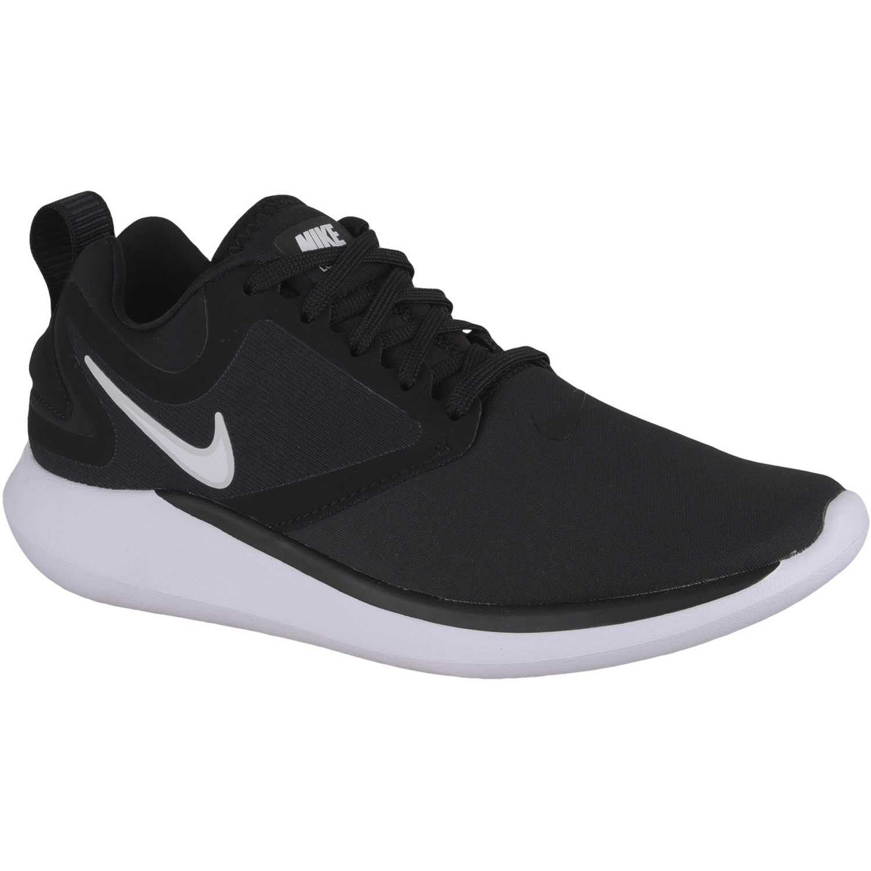 Zapatilla de Mujer Nike Plomo / negro w nk lunarsolo