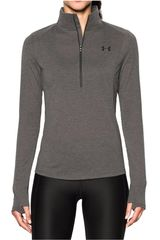 Polera de Mujer Under Armour threadborne train 1/2 zip Gris