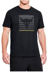 Polo de Hombre Under Armour Negro project rock tee