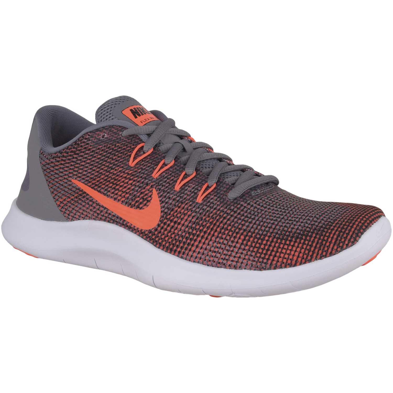 47d3f5b8984 Zapatilla de Hombre Nike Naranja   gris nike flex 2018 rn ...