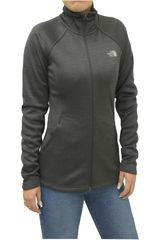 The North Face Plomo de Mujer modelo W AGAVE FULL ZIP Casacas Deportivo