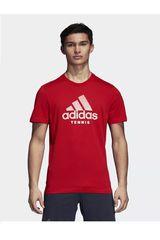 adidas Rojo de Hombre modelo CATEGORY TEE M Deportivo Polos