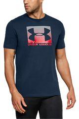 Polo de Hombre Under Armour Azul UA Boxed Sportstyle SS