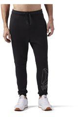 Reebok NEG de Hombre modelo TE BIG LOGO JOGGER PANT Deportivo Pantalones
