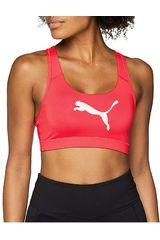 Puma Fucsia / Negro de Mujer modelo PWRSHAPE Forever - Logo Deportivo Tops