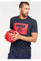 Puma AZ/RJ de Hombre modelo Rebel Block Basic Tee Polos Deportivo