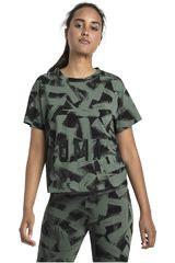 Puma Militar de Mujer modelo FUSION Cropped AOP Tee Polos Deportivo
