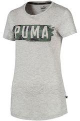 Puma GR/VE de Mujer modelo FUSION Graphic Tee Polos Deportivo