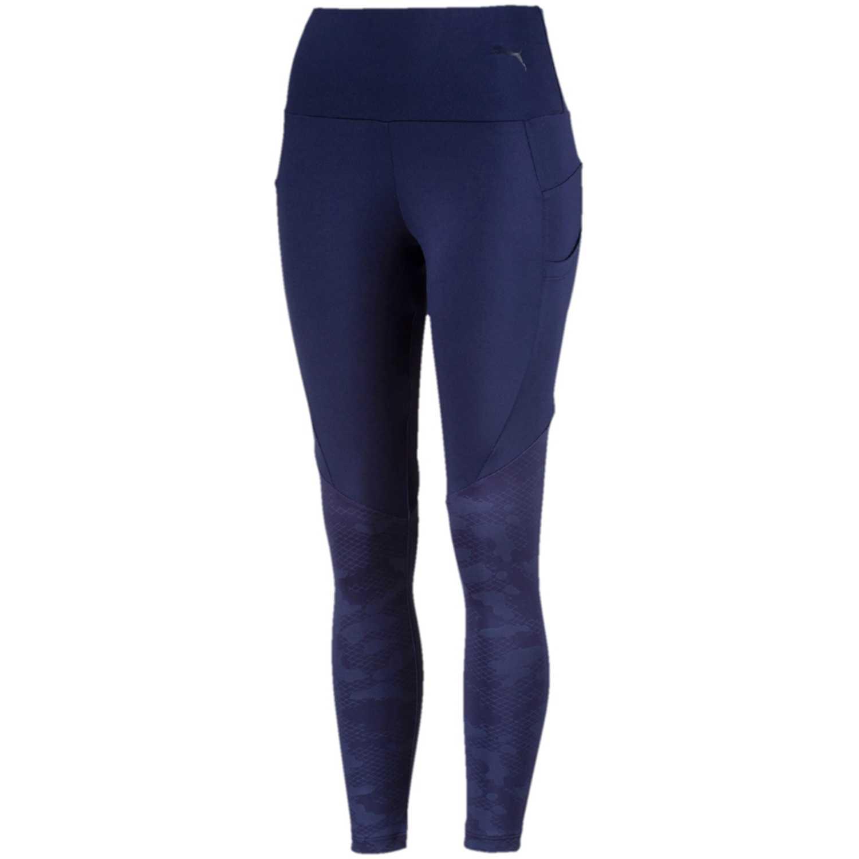 Leggin de Mujer Puma Azul evostripe leggings  eaca935bf350