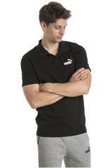 Polo de Hombre Puma Negro / blanco ESS Jersey Polo