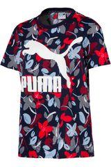 Puma AZ/RJ de Mujer modelo Classics Logo Tee AOP Polos Deportivo