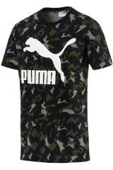 Puma Militar de Hombre modelo Classics Graphic Tee AOP Polos Deportivo