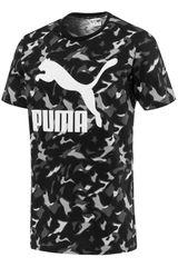 Puma GR/BL de Hombre modelo Classics Graphic Tee AOP Polos Deportivo