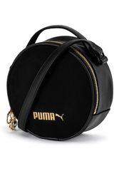 Cartera de Mujer Puma Negro / Dorado Prime Premium Round Case